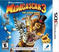 Игра Мадагаскар 3: The Video Game (3DS)
