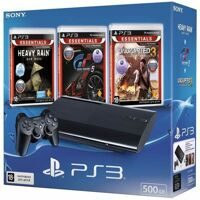 Sony PlayStation 3 Super Slim 500GB (CECH-4308A ) + Heavy Rain + Uncharted 3 + Gran Turismo 5