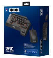 Мышь + клавиатура (кейпад) Hori T.A.C. FOUR TYPE K2 Black USB (PS4)