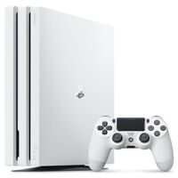 Sony PlayStation 4 Pro (1Tb) (CUH-7108B) White