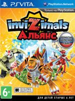 Игра Invizimals (PS Vita, русская версия)