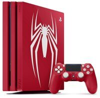 Sony PlayStation 4 Pro (1TB) (CUH-7116B) Spider-Man Limited Edition + игра Marvel's Spider-Man