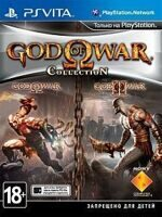Игра God of War Collection (PS Vita, русская версия)