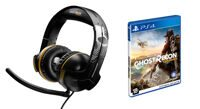 Cтереогарнитура Thrustmaster Y300CPX Ghosts Recon Wildlands Gaming Headset + Игра Tom Clancy's Ghost Recon: Wildlands (PS4)