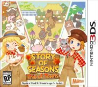 Игра Story of Seasons: Trio of Towns (3DS)