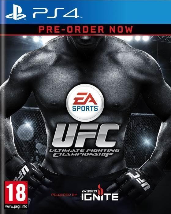 EA Игра UFC (PS4)