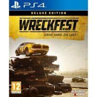Игра Wreckfest Deluxe Edition (PS4, русская версия)