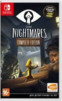 Игра Little Nightmares Complete Edition (Nintendo Switch, русская версия)