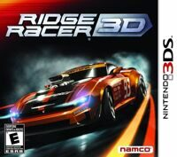 Игра Ridge Racer 3D (3DS)