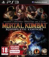 Игра Mortal Kombat (PS3, русская версия)
