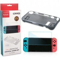 Набор аксессуаров OIVO Crystal Cover Kit (Nintendo Switch)