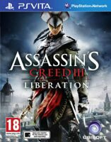 Игра Assassin's Creed III: Liberation (PS Vita, русская версия)