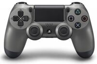 Контроллер Sony DualShock 4 Steel Black (чёрная сталь) (PS4)