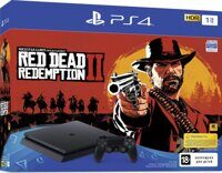 Sony PlayStation 4 Slim (1Tb) (CUH-2208B) + игра Red Dead Redemption 2