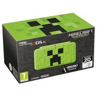 New Nintendo 2DS XL Creeper + Minecraft