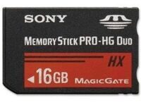 Карта памяти Sony Memory Stick Pro-HG Duo 16GB (PSP)