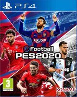 Игра eFootball Pro Evolution Soccer 2020 (PES 20) (PS4, русская версия)