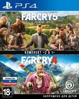 Игра Far Cry 4 + Far Cry 5 (PS4, русская версия)