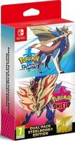 Игра Pokemon Sword and Pokemon Shield Dual Pack (Nintendo Switch)