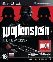Игра Wolfenstein: The New Order (PS3, русская версия)