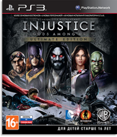 Игра Injustice: Gods Among Us Ultimate Edition (PS3, русская версия)