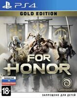 Игра For Honor Gold Edition (PS4, русская версия)