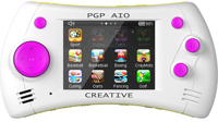 PGP AIO Creative 2,8'' Touch + 100 игр 32 bit (MGS11-H) (белая)