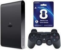 Sony PlayStation TV + контроллер Sony DualShoсk 3 + PS Vita Memory Card 8GB + 3 игры