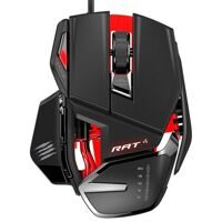 Проводная мышь Mad Catz R.A.T.4 Gaming Mouse (Black/Red) (PC)
