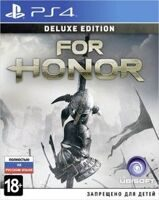 Игра For Honor Deluxe Edition (PS4, русская версия)