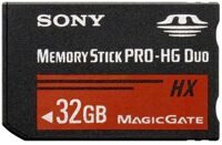 Карта памяти Sony Memory Stick Pro-HG Duo 32GB (PSP)