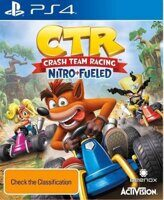Игра Crash Team Racing Nitro-Fueled (PS4)