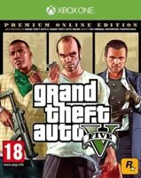 Игра Grand Theft Auto V Premium Online Edition (GTA 5) (XBOX One, русская версия)