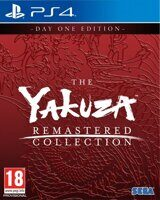 Игра Yakuza Remastered Collection Day One Edition (PS4)
