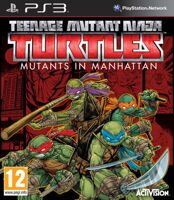 Игра Teenage Mutant Ninja Turtles: Mutants in Manhattan (PS3)