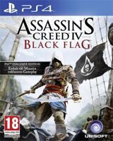 Игра Assassin's Creed IV: Чёрный флаг (PS4, русская версия)