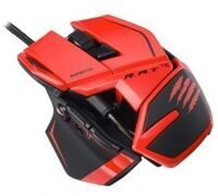 Проводная мышь Mad Catz R.A.T.TE Gaming Mouse (Red) (PC)
