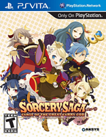 Игра Sorcery Saga: The Curse of the Great Curry God (PS Vita)