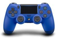 Геймпад Sony DualShock 4 V2 Wave Blue (синий)