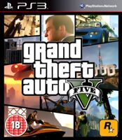 Игра Grand Theft Auto V (GTA 5) (PS3, русская версия)
