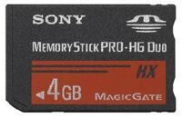 Карта памяти Sony Memory Stick Pro-HG Duo 4GB (PSP)