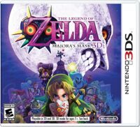 Игра The Legend of Zelda: Majora's Mask 3D (3DS)
