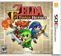 Игра The Legend of Zelda: Tri Force Heroes (3DS)