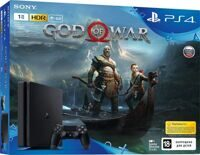 Sony PlayStation 4 Slim (1Tb) (CUH-2108B) + игра God of War IV