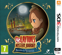 Игра Layton's Mystery Journey: Katrielle and the Millionaires' Conspiracy (3DS)