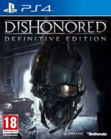Игра Dishonored Definitive Edition (PS4, русская версия)